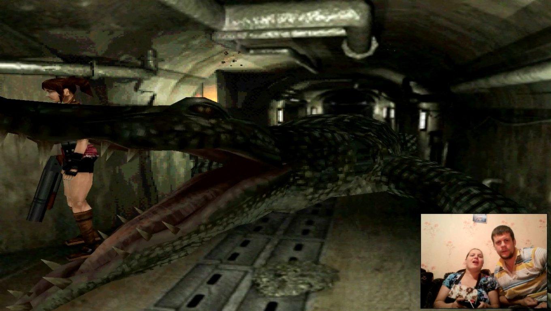 Жена играет в Resident evil 2 - испугалась очень сильно! (Прохождение)#3  - Изображение 1