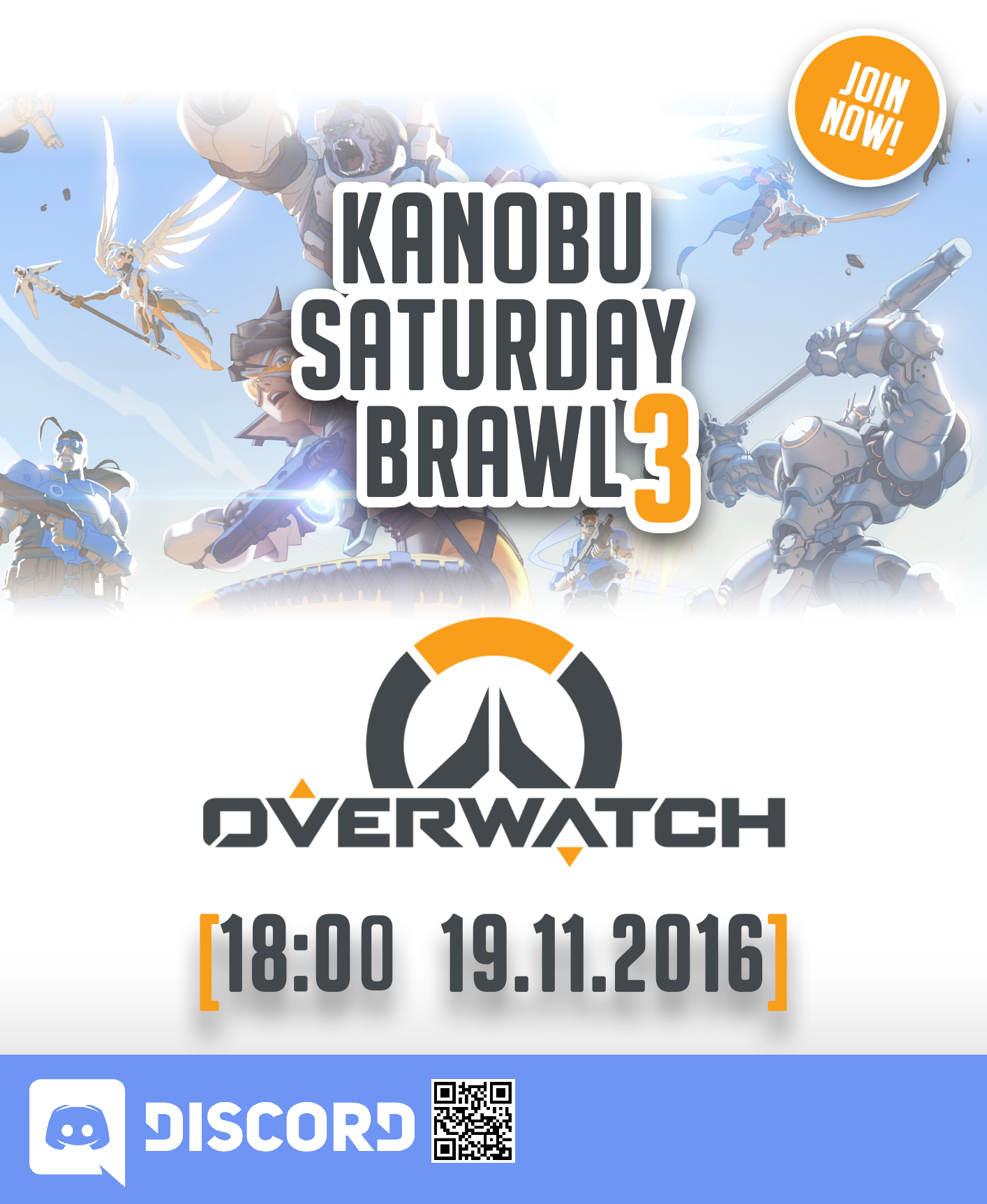 Kanobu saturday brawl 3: Overwatch - Изображение 1