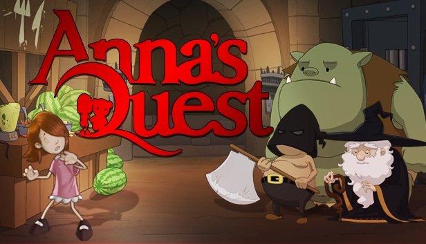 100 моих любимых игр (часть 1). Anna's Quest.  - Изображение 1
