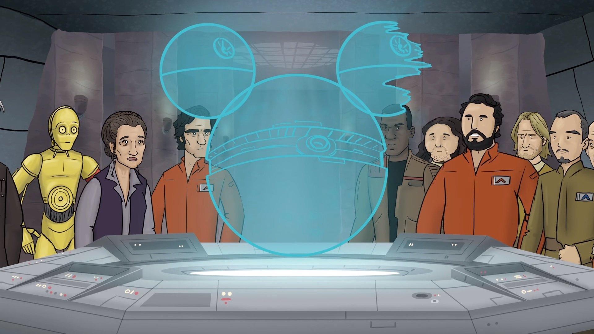 Как должен был бы закончится седьмой эпизод Звездных Войн - Изображение 2