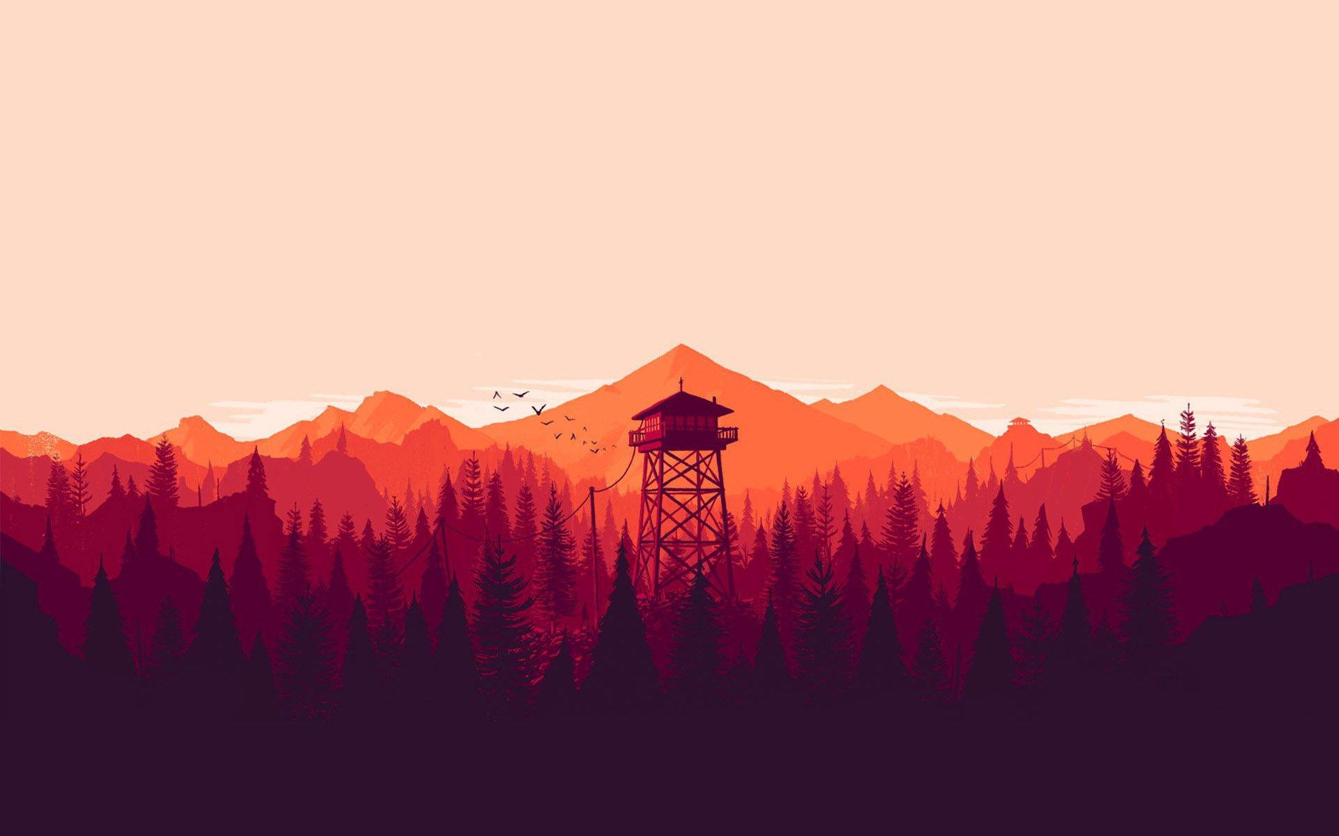 Firewatch - борода и дикая природа(обзор) - Изображение 2