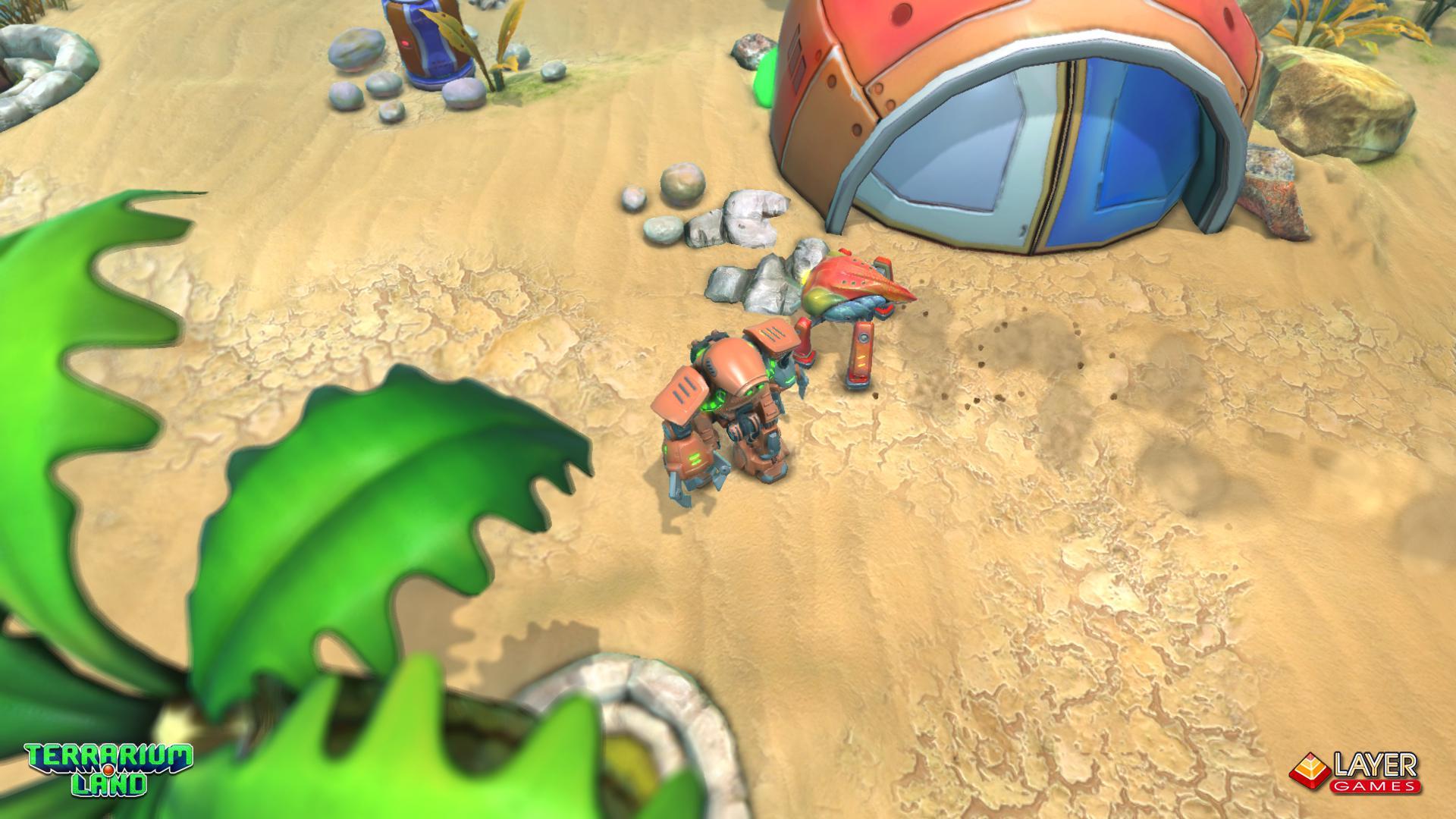 """3d игра """"Terrarium Land"""" весной выходит в Steam. - Изображение 3"""