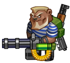 Игра про медведя-мутанта в тельняшке и с пулеметом. - Изображение 1