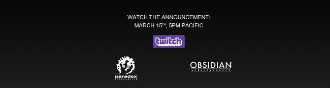 Новая игра Obsidian будет анонсирована на следующей неделе  - Изображение 1