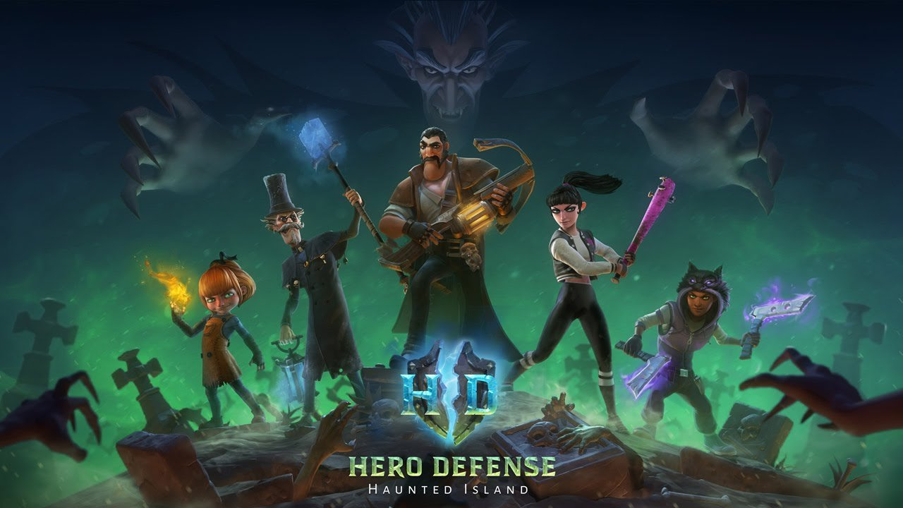 Знакомство с Hero Defense - Haunted Island - Изображение 1