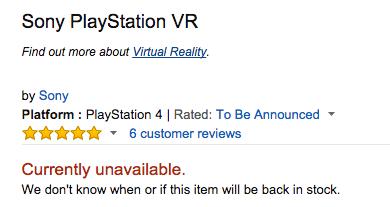 PlayStation VR штурмует рынок ! В магазинах полные солд-ауты! - Изображение 2