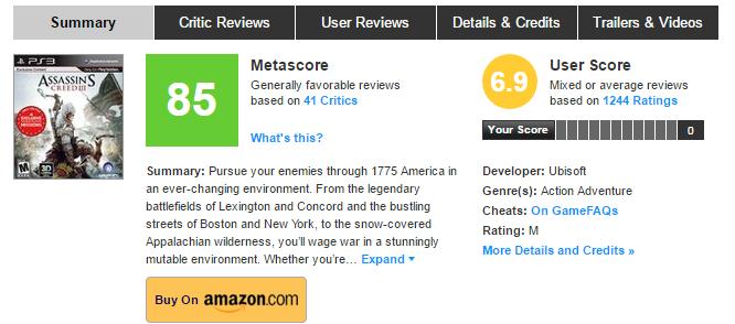 Позор серии Assassin's Creed - Unity?! Нет! - Изображение 2