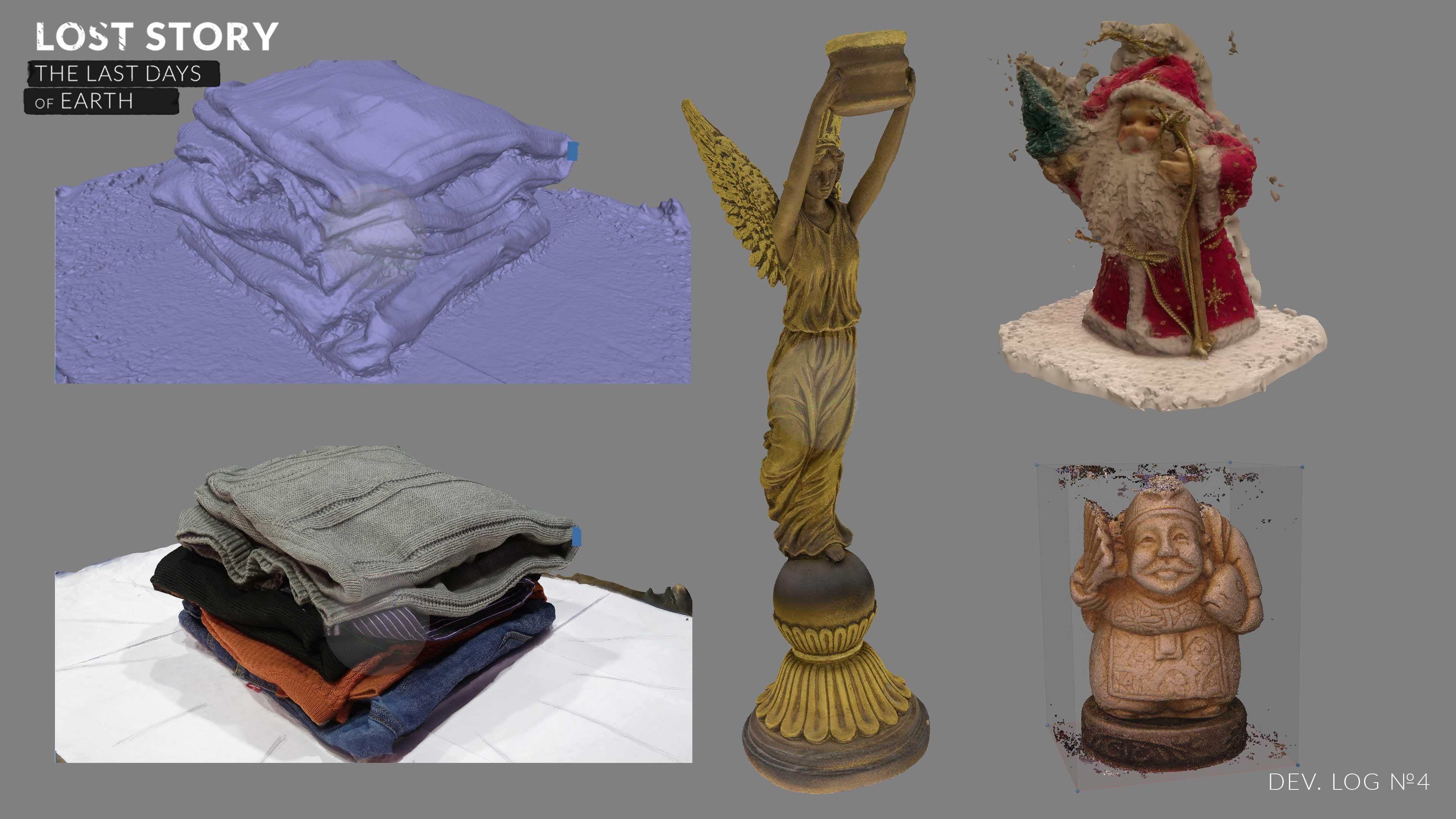 Lost Story: Dev.Log #4 - Часть 1: Фотограмметрия для моделей - Изображение 2
