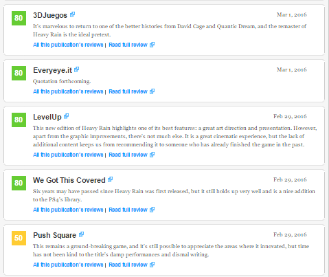 Релизный трейлер сборника Heavy Rain и Beyond: Two Souls для PS4, а также оценки этих игр! - Изображение 7
