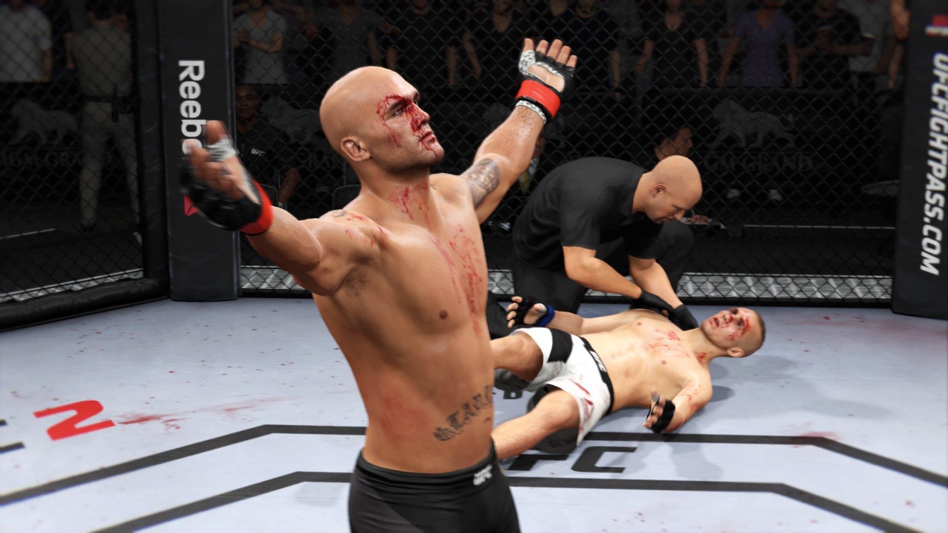 EA SPORTS UFC 2. Первые впечатления.  - Изображение 3
