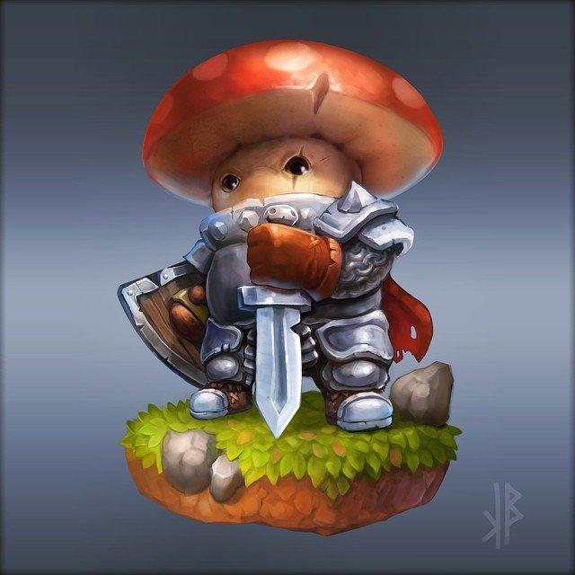 Вести с полей или инструкция как стать грибным генералом!. - Изображение 2
