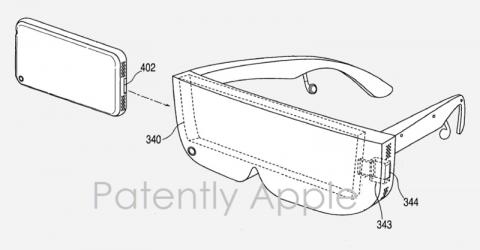 Apple патентует VR-гарнитуру для iPhone - Изображение 2