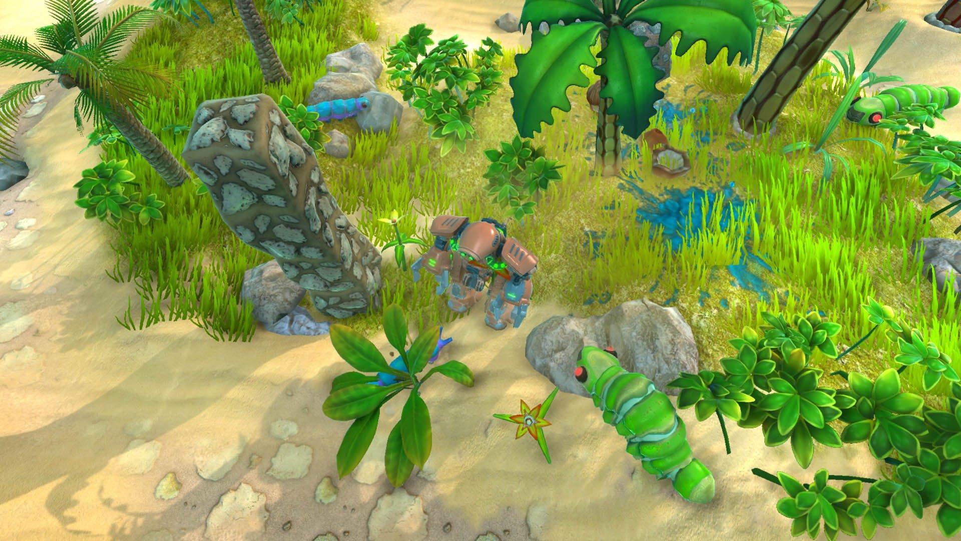 3d аркада Terrarium Land выходит в Steam ! - Изображение 2