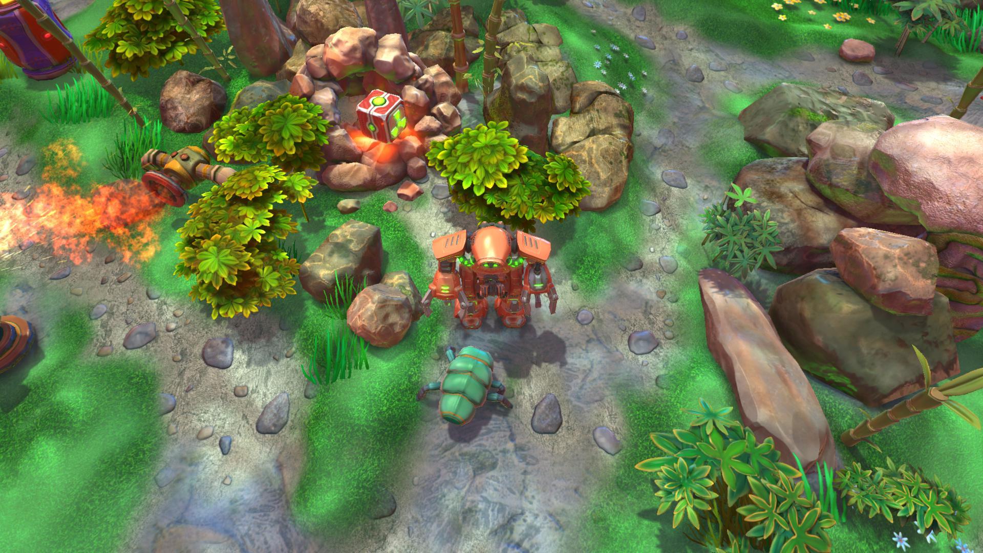 "3d аркада""Terrarium Land"". Демо-версия доступна в Steam. - Изображение 2"