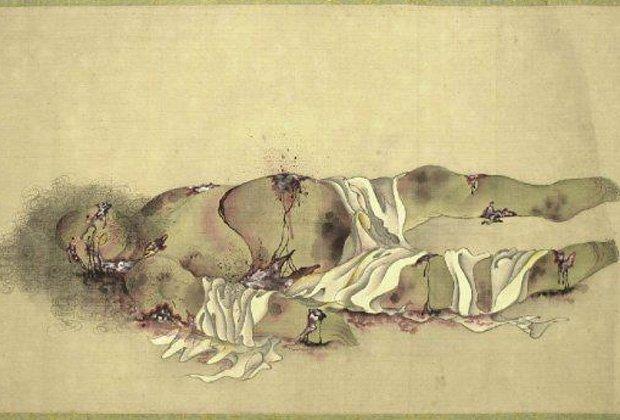 Девять стадий разложения гейши. - Изображение 5