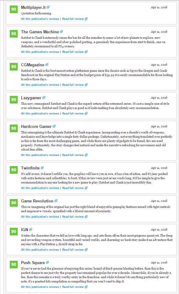 Оценки Ratchet and Clank эксклюзива PS4! Годнота! - Изображение 3
