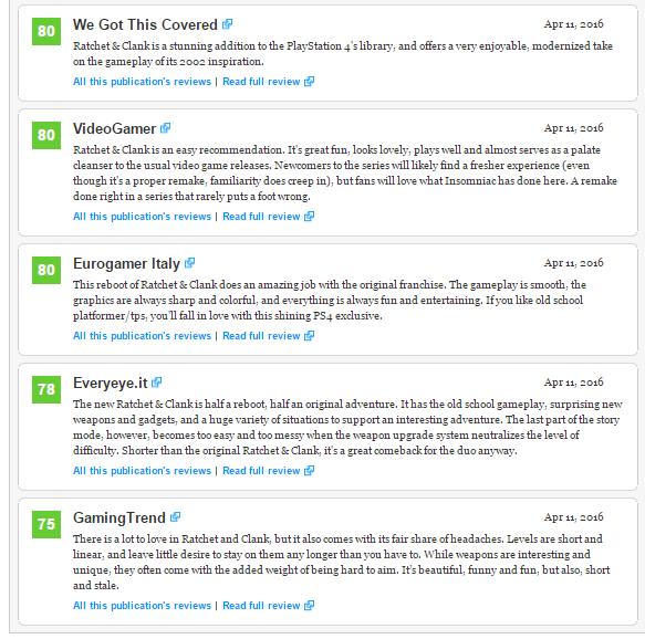 Оценки Ratchet and Clank эксклюзива PS4! Годнота! - Изображение 6