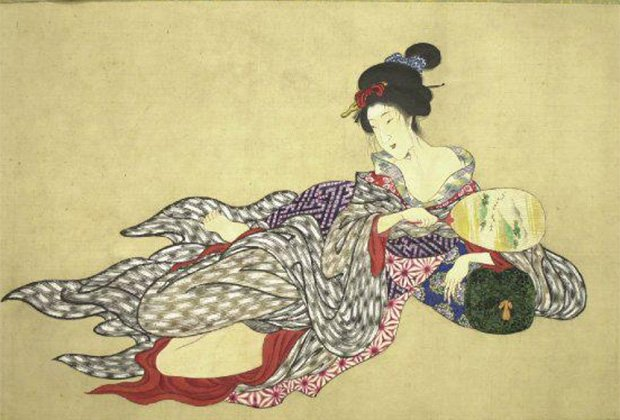 Девять стадий разложения гейши. - Изображение 1