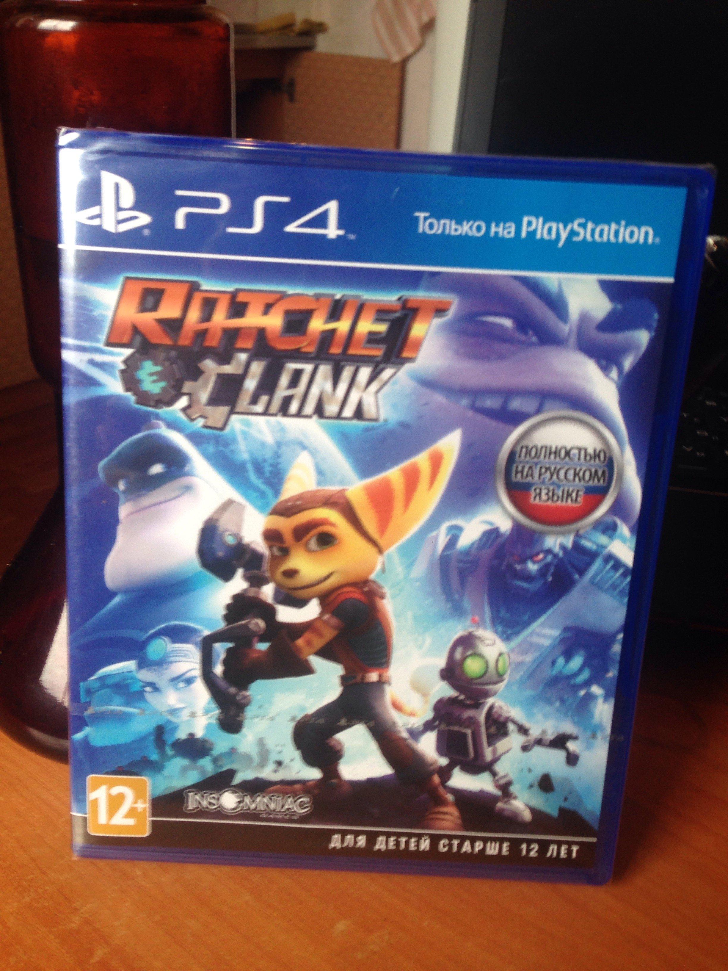 Анбоксинг Ratchet & Clank (2016) - Изображение 2