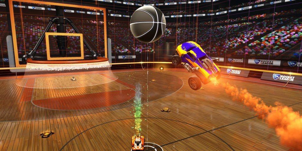 Баскетбольный режим в Rocket League - Изображение 1
