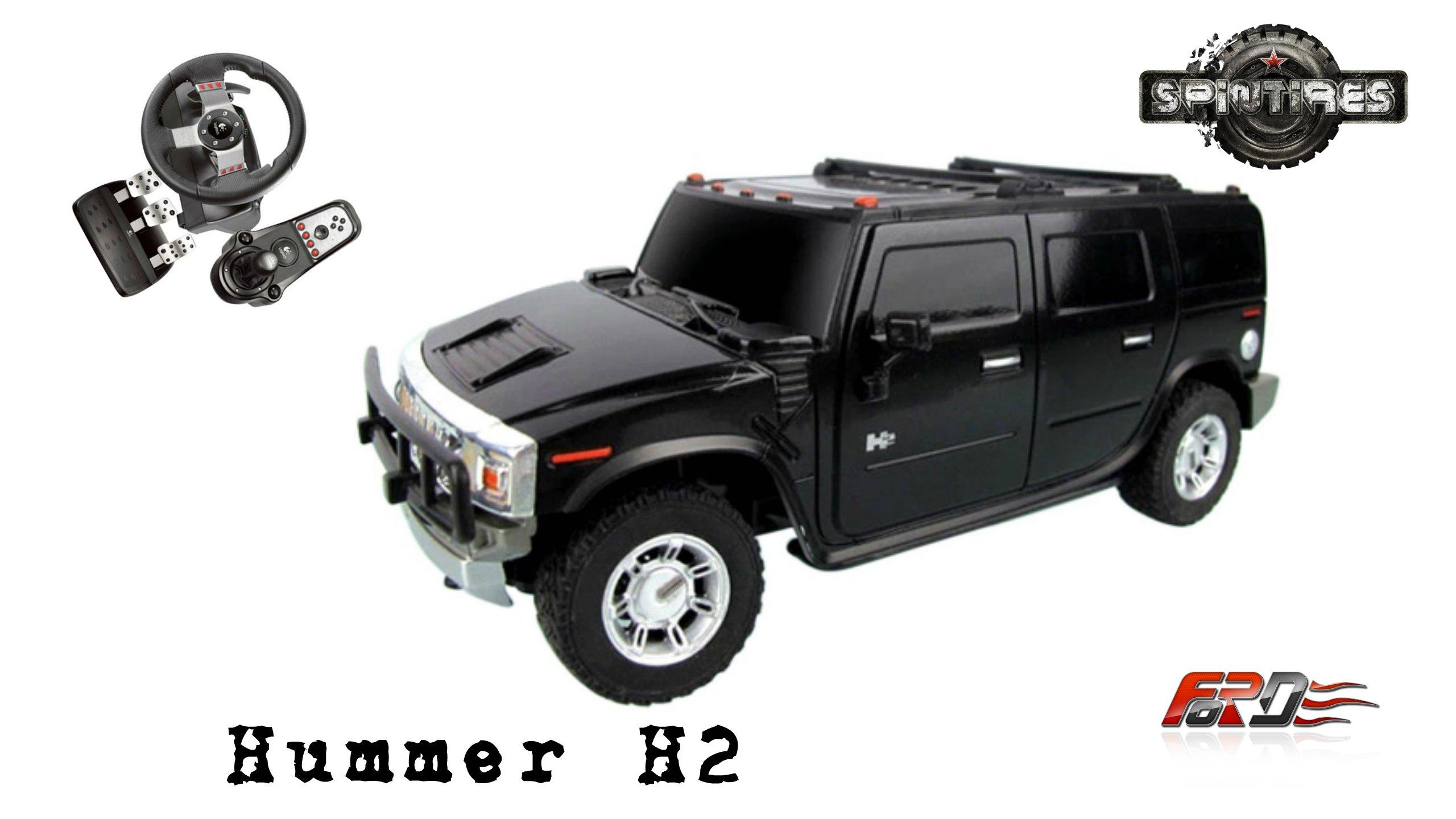 [ Hummer H2 ] тест-драйв, обзор, OFF ROAD американского внедорожника в SpinTires 2016 - Изображение 1