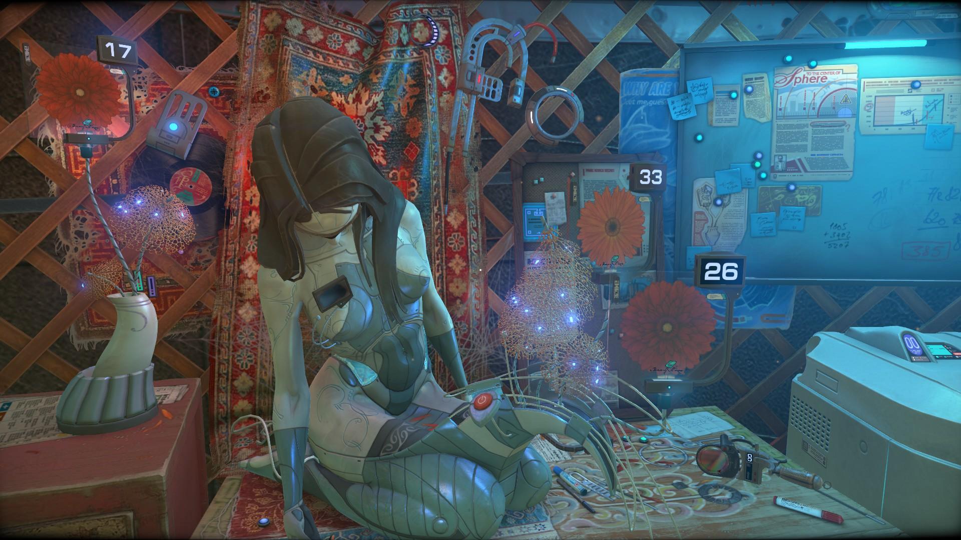 Взгляд на научно-фантастический квест Cradle  - Изображение 3