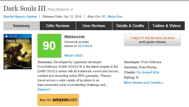 Первые оценки Dark Souls III ! . - Изображение 1