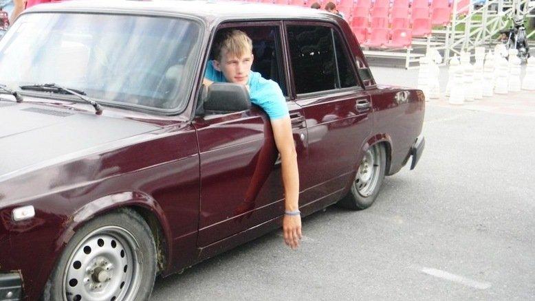 ВАЗ 2107 - низкий ТАЗ радует глаз! Тюнинг,  стайлинг, дрифт, пацанский автомобиль в City Car Driving - Изображение 1