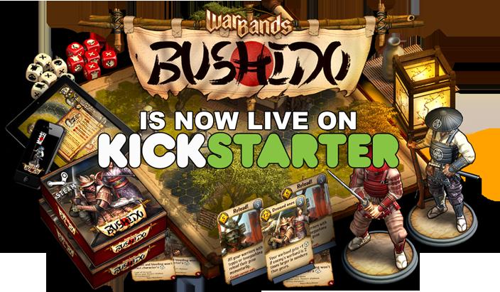 Warbands: Bushido на кикстартере! - Изображение 1