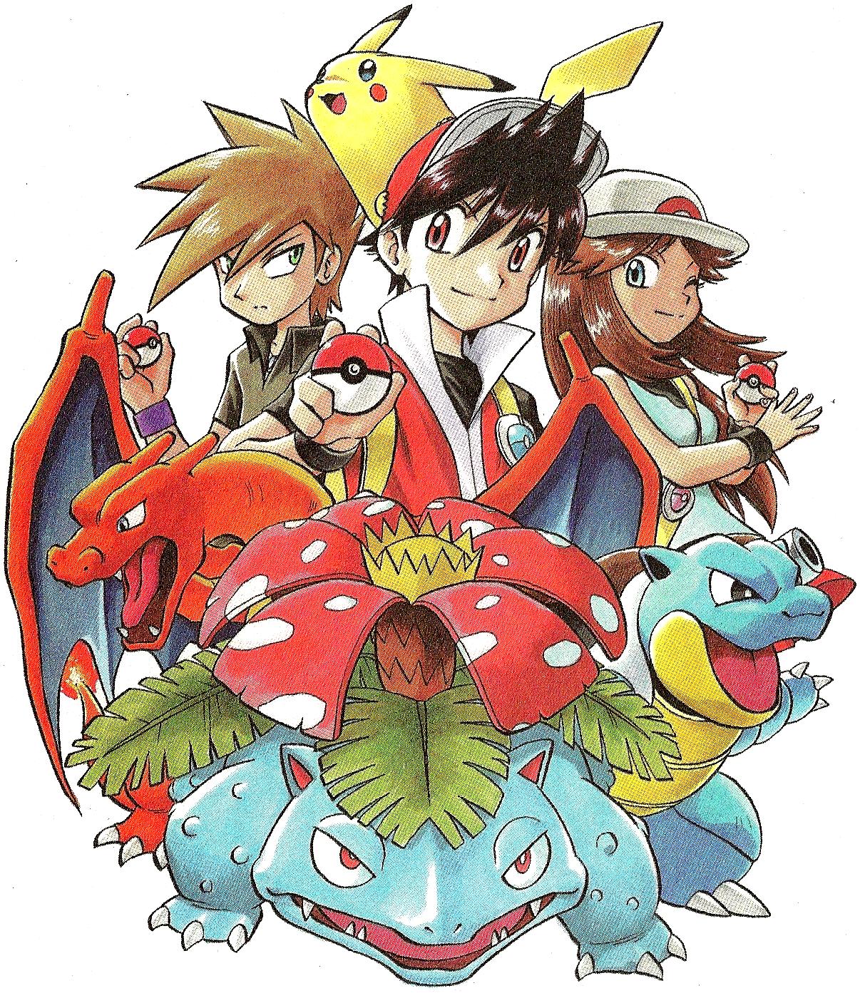 vS Pokemon Adventures - Изображение 1