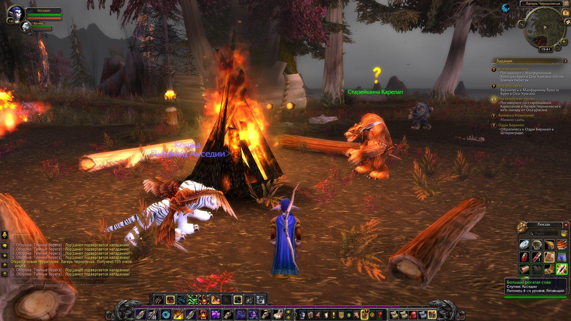 Путешествие по World of Warcraft ... Ночной Эльф. Глава 2 - Изображение 14