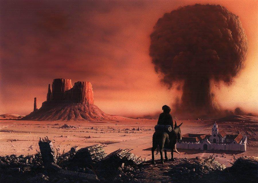 По следам «Fallout» №3: реалистичный постапокалипсис Уолтера Миллера  «Страсти по Лейбовицу» (1960)  - Изображение 2
