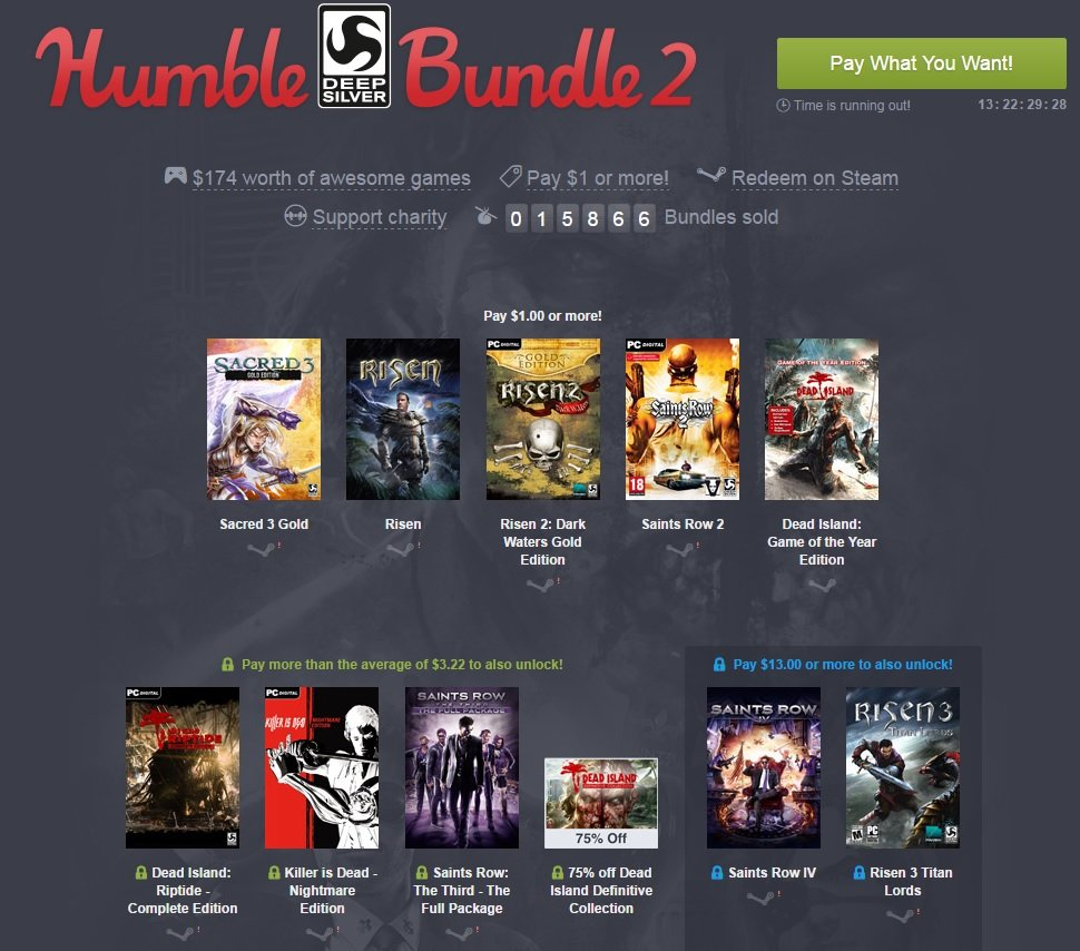 The Humble Deep Silver Bundle 2 - Изображение 1