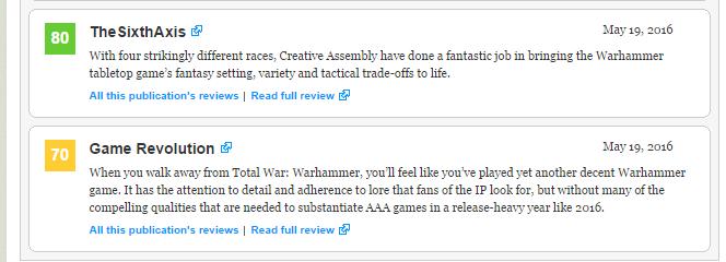 Первые оценки Total War : Warhammer!  - Изображение 4