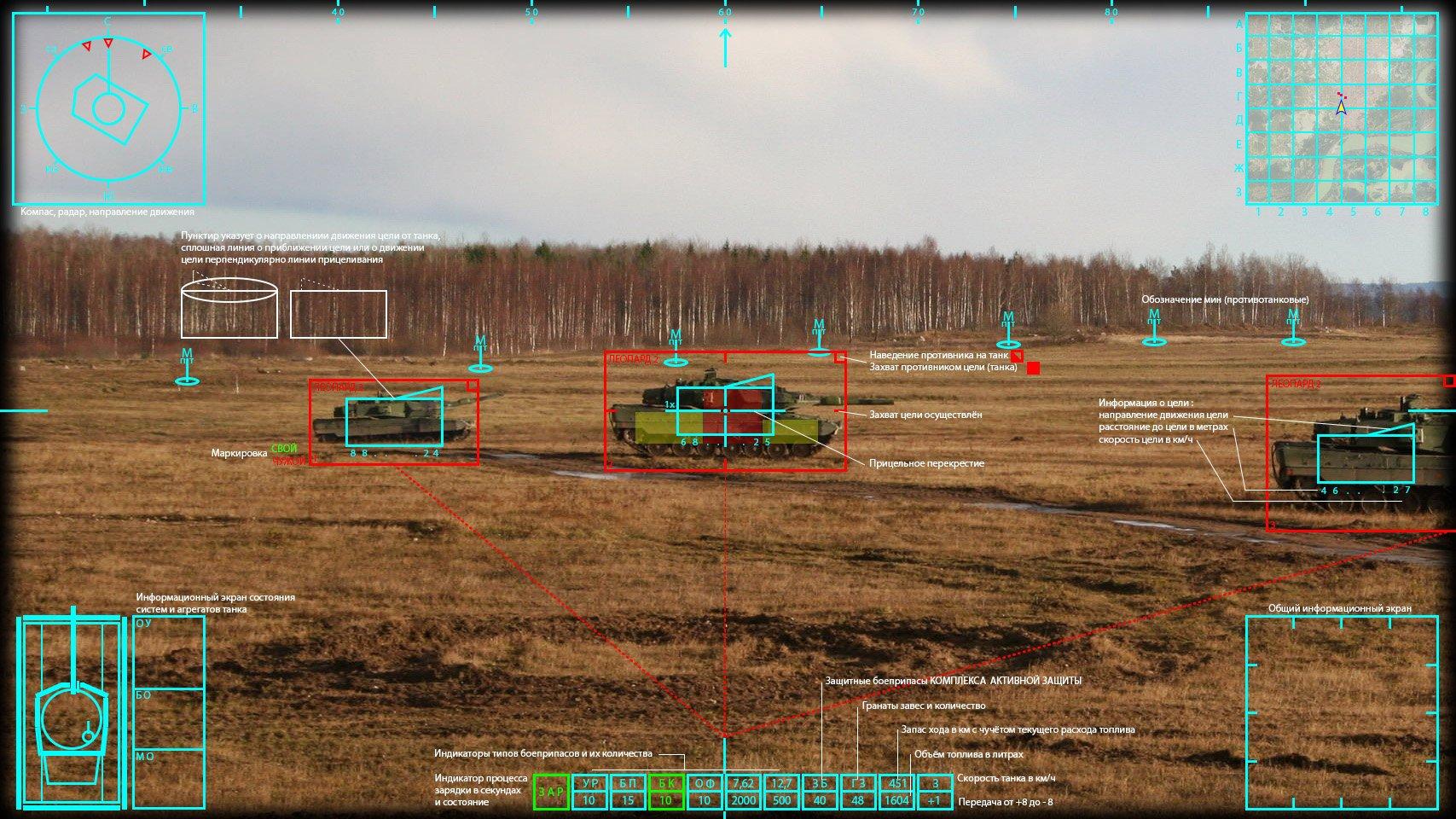 Танковый интерфейс ближайшего будущего. - Изображение 1