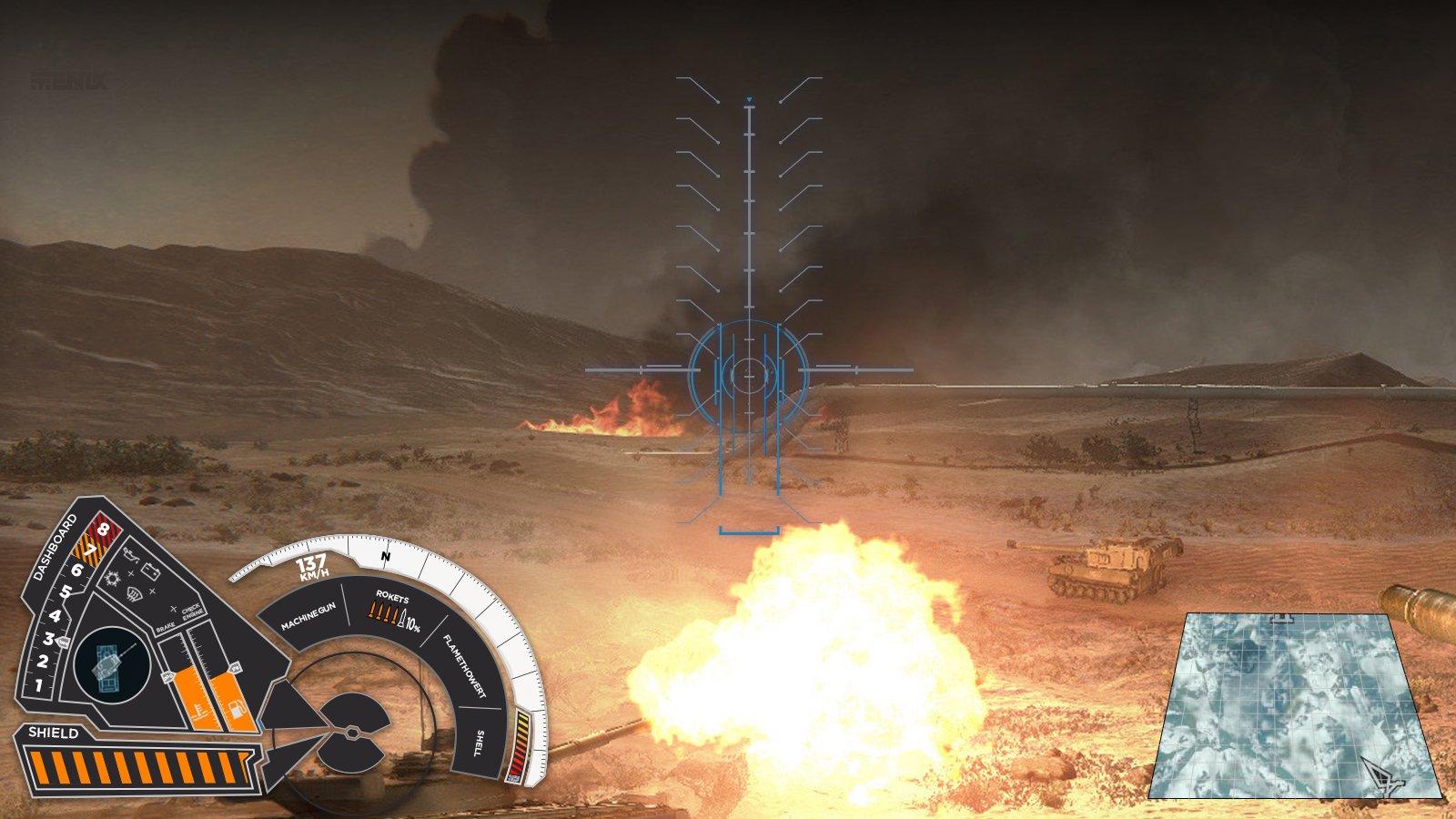 Танковый интерфейс будущего - Изображение 1