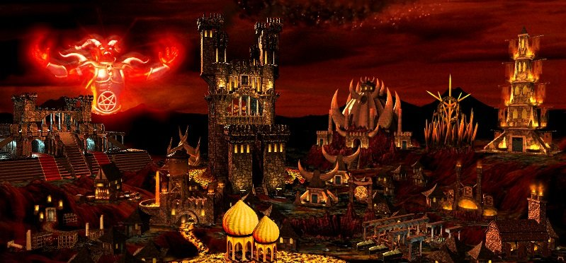Картина замка Инферно (HoMM3) - Изображение 5