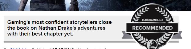 Оценки Uncharted 4! Легендарное окончание серии!  - Изображение 9