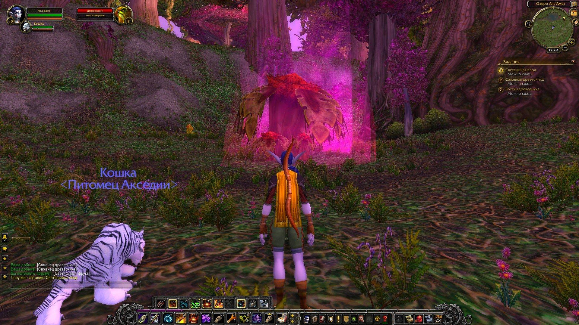 Путешествие по World of Warcraft ... Ночной Эльф. Глава 1 - Изображение 3