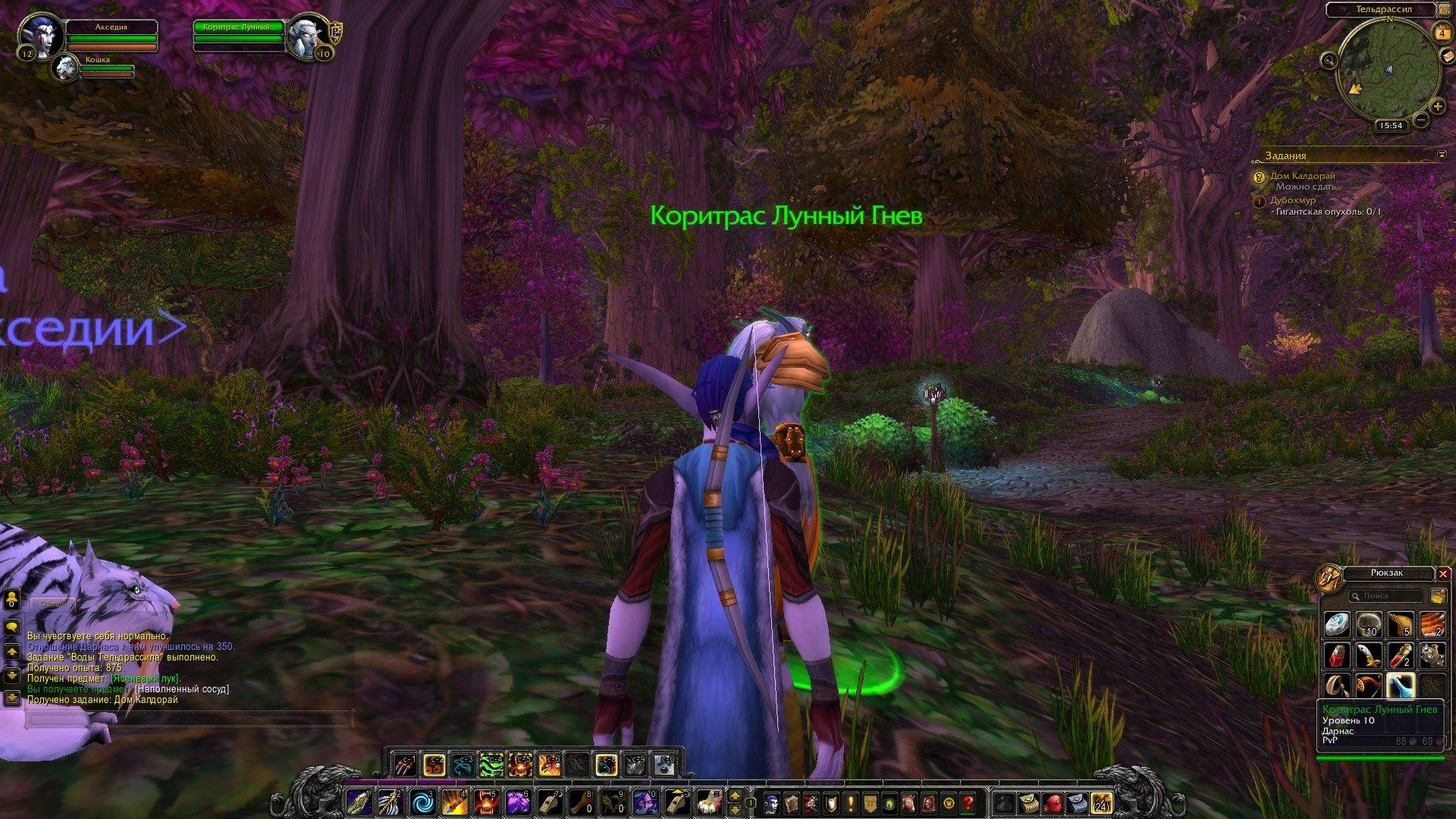 Путешествие по World of Warcraft ... Ночной Эльф. Глава 1 - Изображение 11