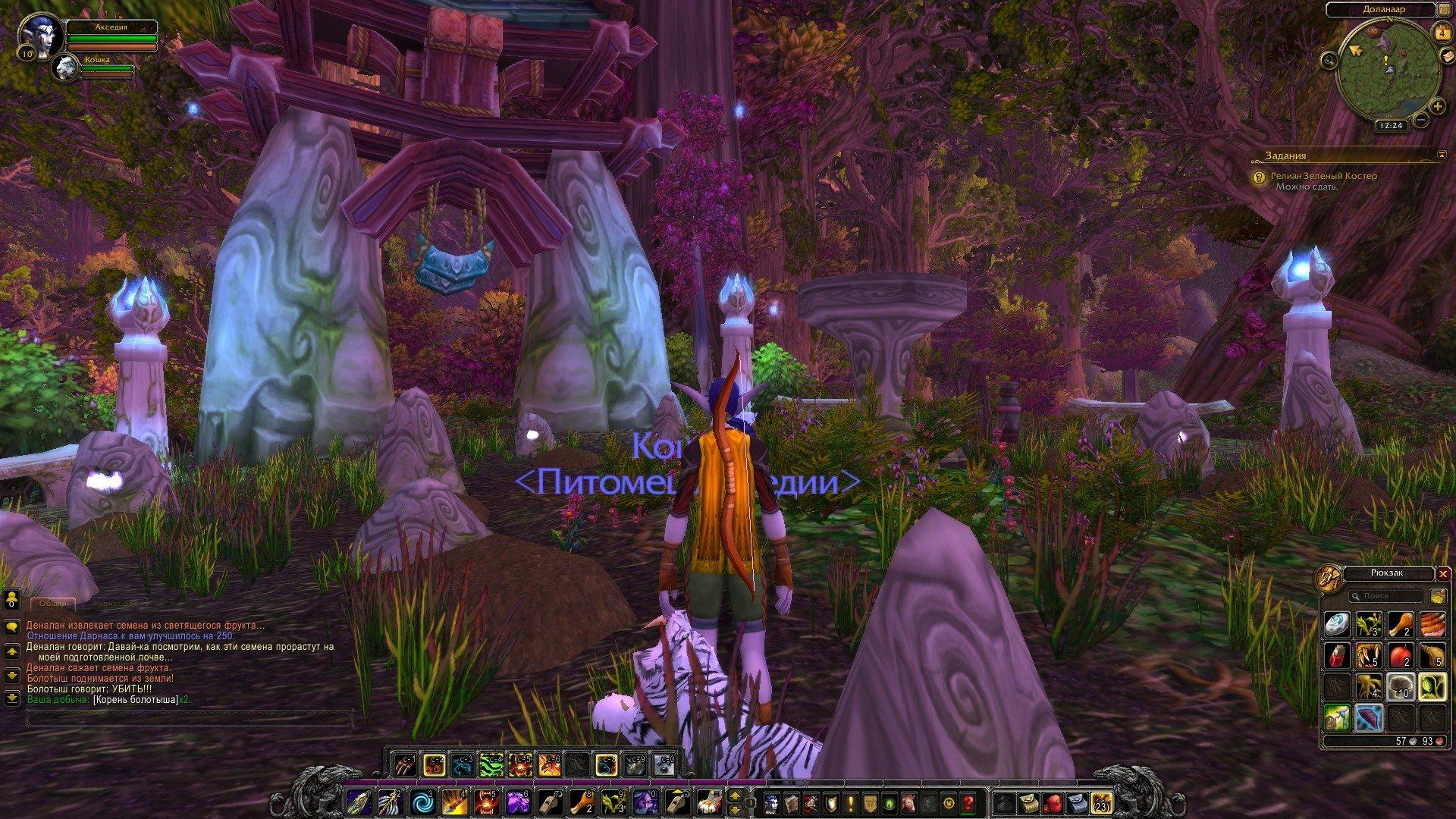 Путешествие по World of Warcraft ... Ночной Эльф. Глава 1 - Изображение 4