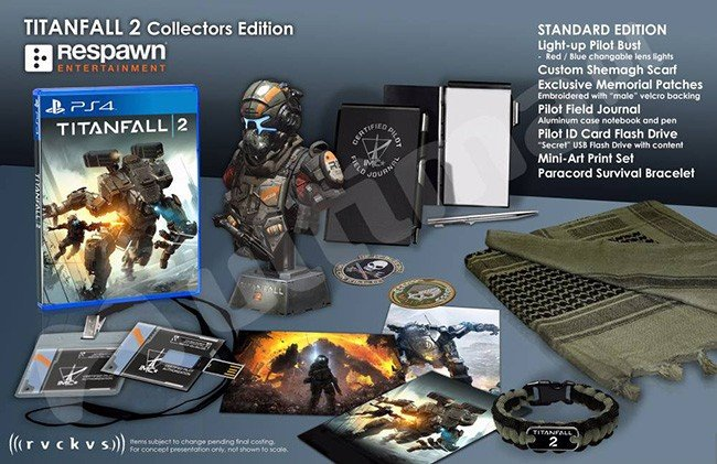 Новостища найн! Коллекционки Titanfall 2!  PS4K реальна ! Трейлер Call of Ctulhu! - Изображение 2