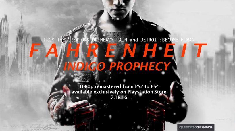 Fahrenheit выйдет эксклюзивно для PS4 в 1080p. - Изображение 1
