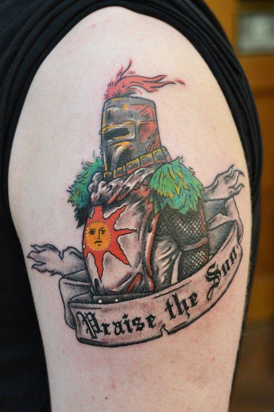 Dark Souls Tattoo. - Изображение 1
