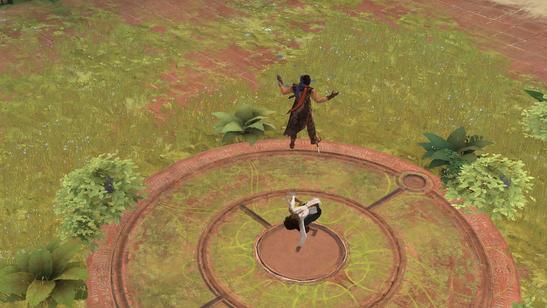 Ретро-прохождение Prince of Persia (2008) в скриншотах ... Часть 1 НАЧАЛО!  - Изображение 20