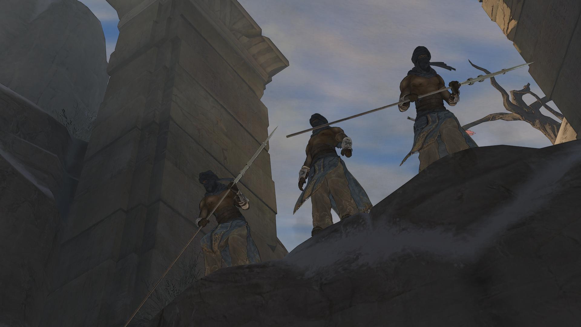 Ретро-прохождение Prince of Persia (2008) в скриншотах ... Часть 1 НАЧАЛО!  - Изображение 4