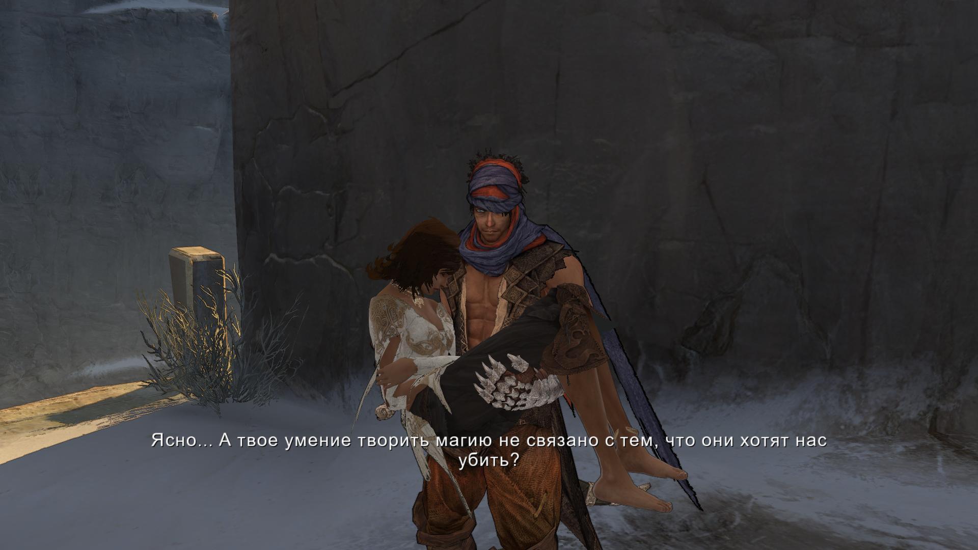 Ретро-прохождение Prince of Persia (2008) в скриншотах ... Часть 1 НАЧАЛО!  - Изображение 9