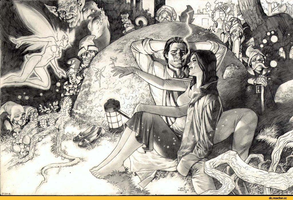 """Это комиксы № 2: Шериф Бигби и Снежка - """"Fables"""": история непростых отношений - Изображение 17"""