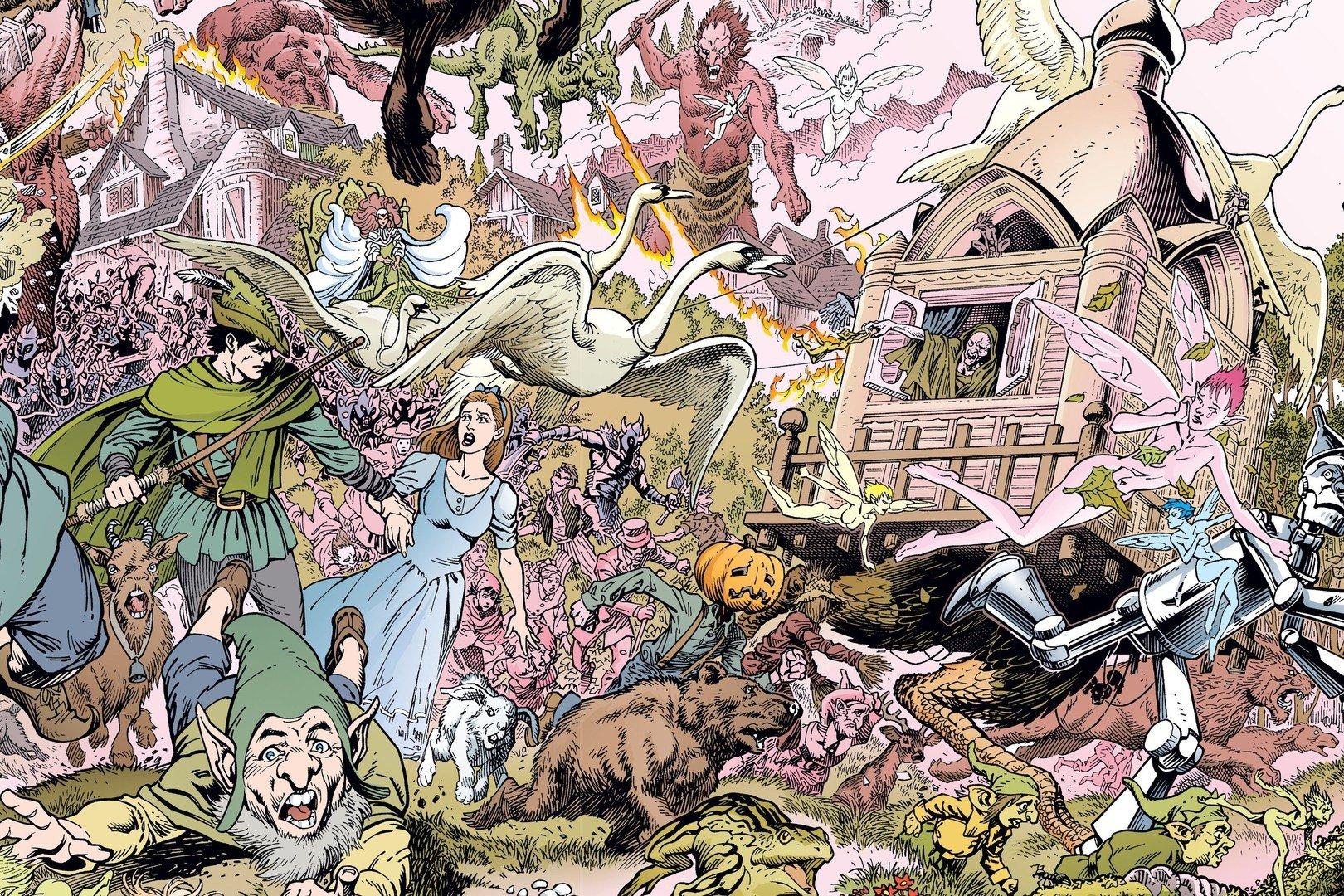 """Это комиксы № 2: Шериф Бигби и Снежка - """"Fables"""": история непростых отношений - Изображение 8"""