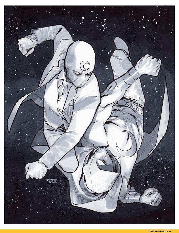 Малоизвестные супергерои №1 - Лунный рыцарь\Moon Knight - Изображение 2